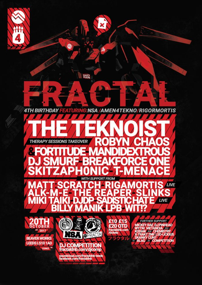 Fractal:17 - Fourth Birthday